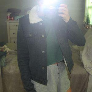Abercrombie & Fitch blue jacket